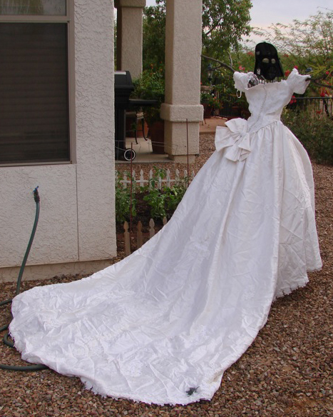Wife's Wedding Dress