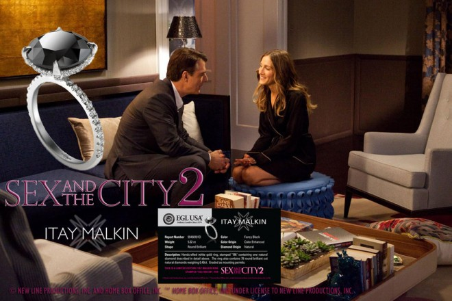Sex and the city comes home