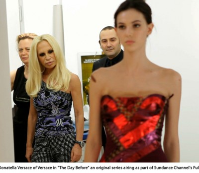 Go Backstage with Donatella Versace - Related Image