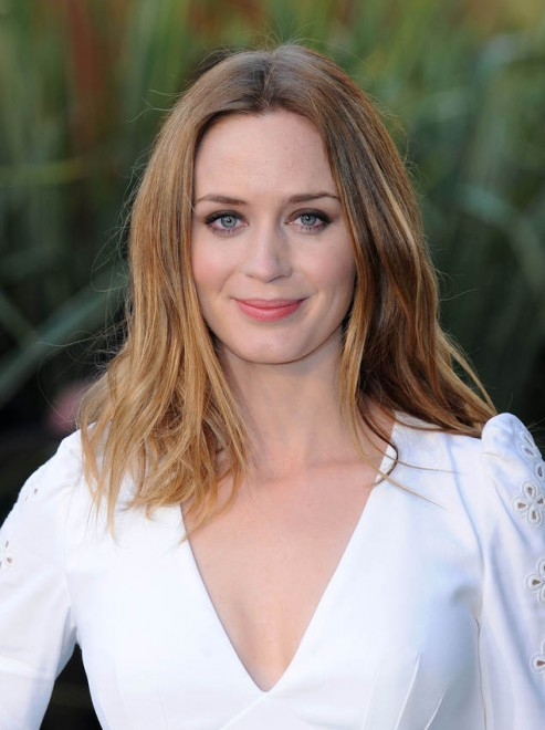 Emily Blunt Goes Blonde Flare