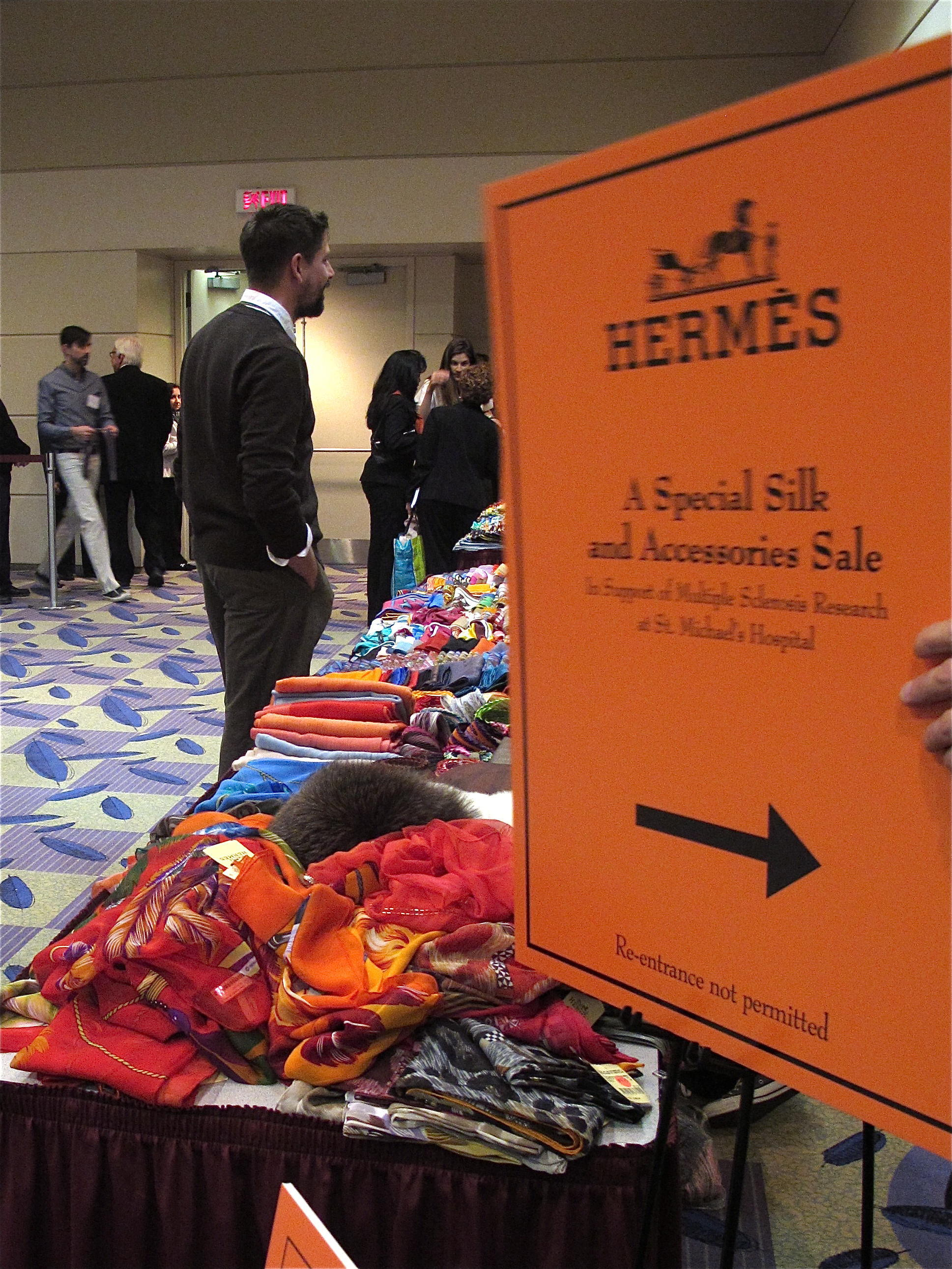 dfabfea4a12 Editor s Diary  Behind-the-Scenes at the Hermès Sample Sale - Flare