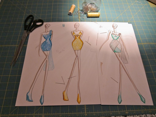 Brandon Dwyer Creates Custom Dress for the 2011 IIFAs