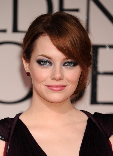 Get The Look: Emma Stone at the Golden Globes