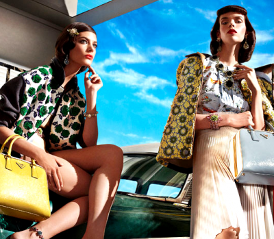 Canadian Models: Spring 2012 Fashion Ads