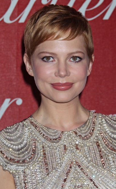 Michelle Williams With Strawberry Blonde Hair