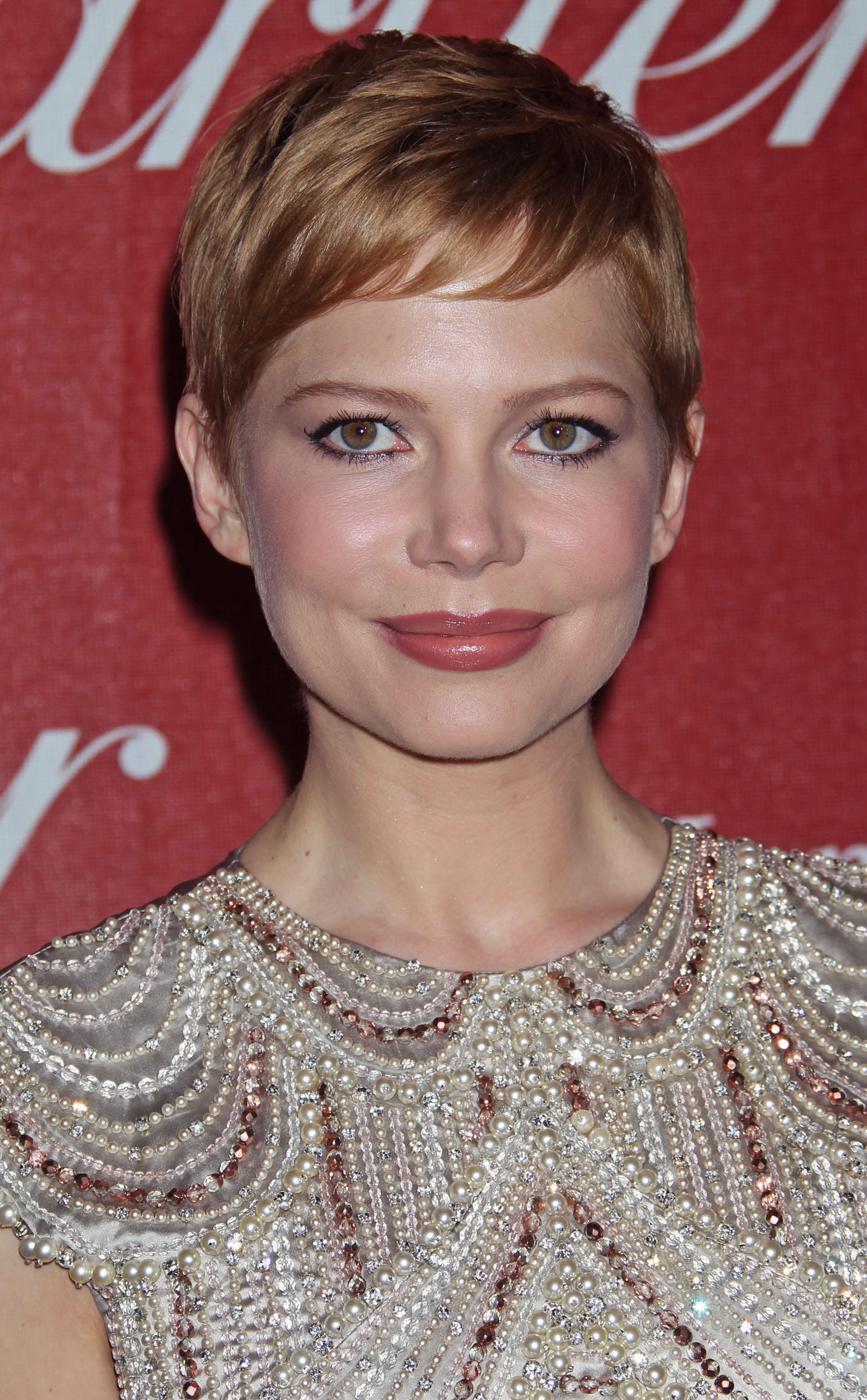 Michelle Williams Debuts Strawberry Blonde Hair Flare