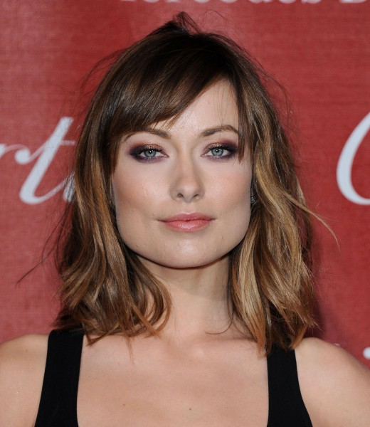 Olivia Wilde New Blonde Hair 2012