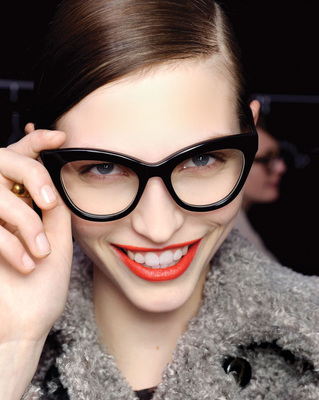 Cat Eye Glasses 2012 Style Tip