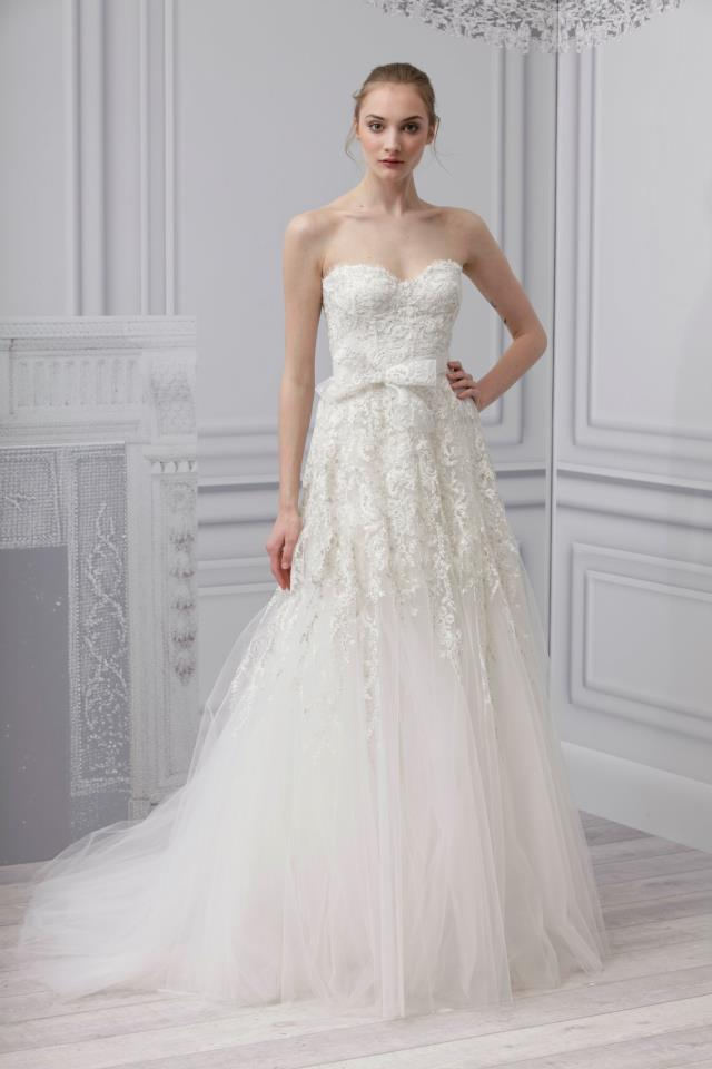 Monique Lhullier Spring 2013 Bridal Collection