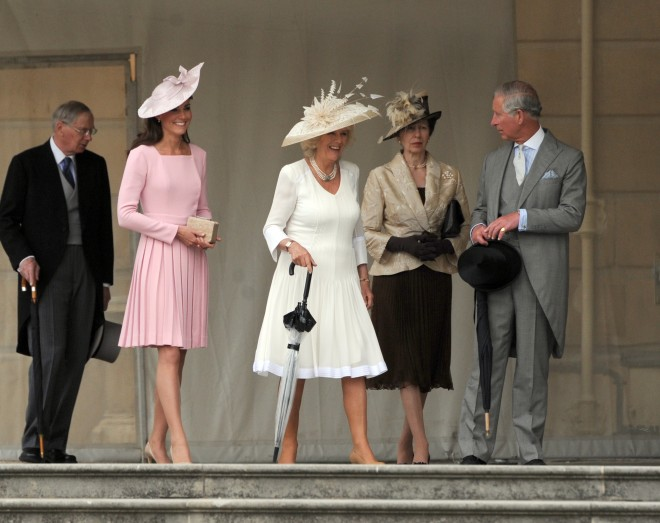 Kate Middleton Repeats A Pink Dress by Emilia Wickstead