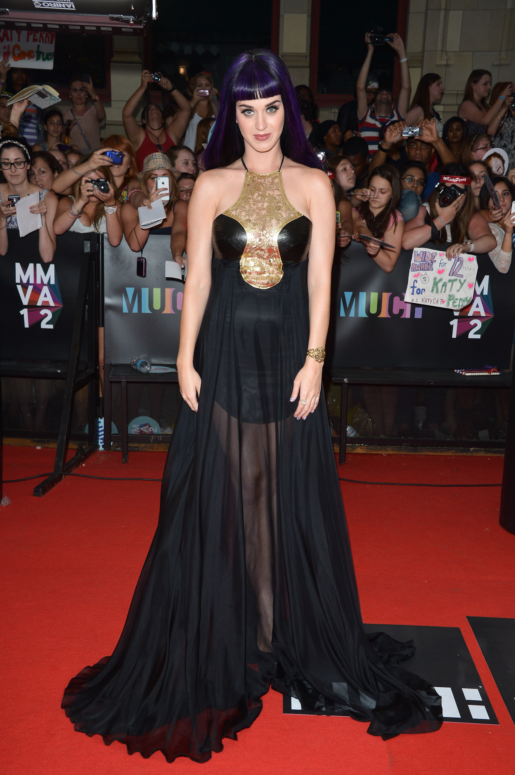 Katy Perry in Vawk at the 2012 MuchMusic Video Awards