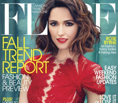 Rose Byrne FLARE August 2012