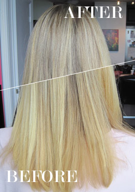 Beauty Lesson How To Fix Discolouration In Colour Treated Blond Hair Flare