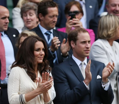 Kate Middleton at Wimbledon in Alexander McQueen