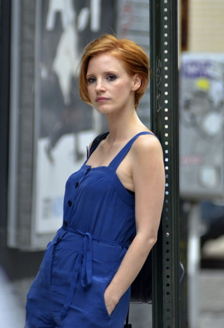 Jessica Chastain Chops It All Off: See Her New Short Hairstyle