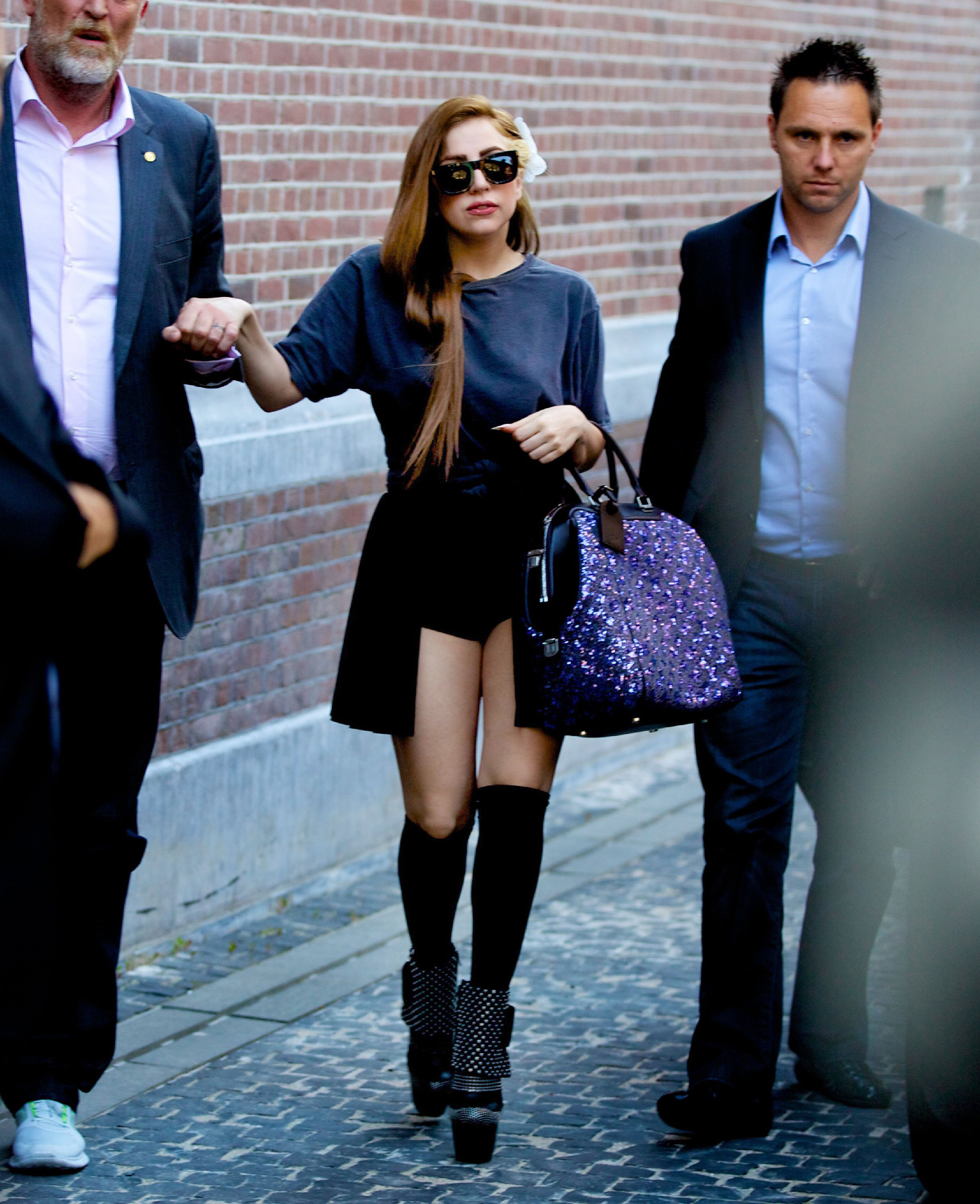 Lady Gaga Style Standoff: Louis Vuitton Vs. Tom Ford xTwo advise
