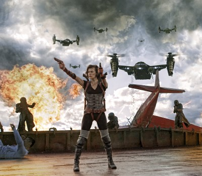 Videos: Behind-the-Scenes of Resident Evil: Retribution with Milla Jovovich