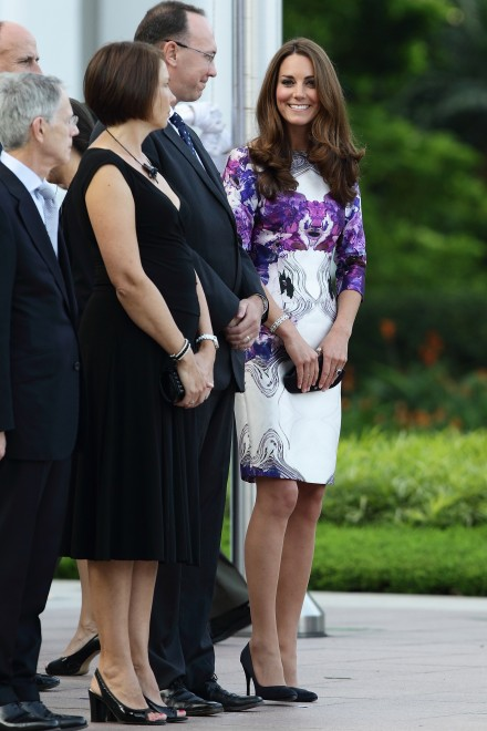Kate Middleton Prabal Gurung The Duke And Duchess Of Cambridge Diamond Jubilee Tour - Day 1