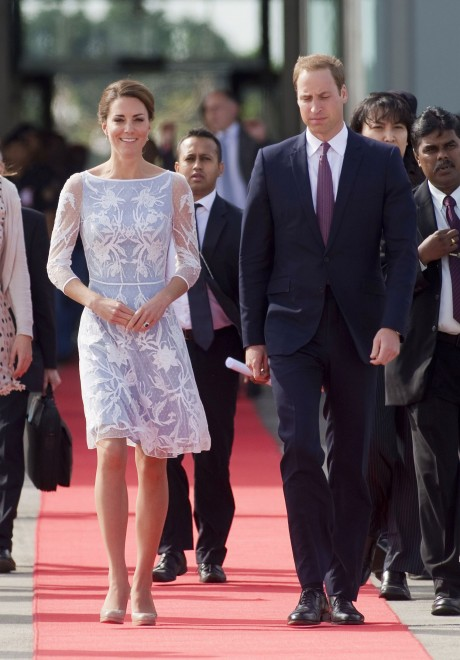 Kate Middleton Wears Beulah London and Alice Temperley in Malaysia