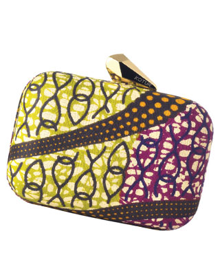 <b>KENYAN CLOTH CLUTCH</b>