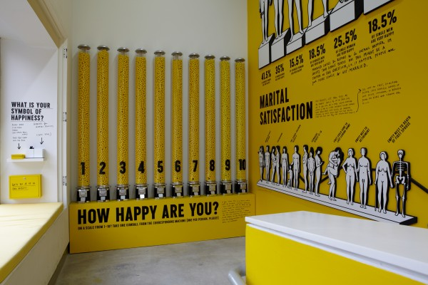 Graphic Designer Stefan Sagmeister Explores the Concept with The Happy Show