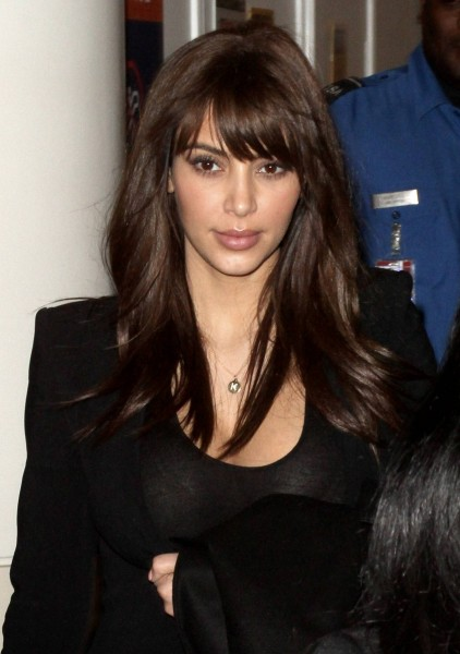 Kim Kardashian New Haircut
