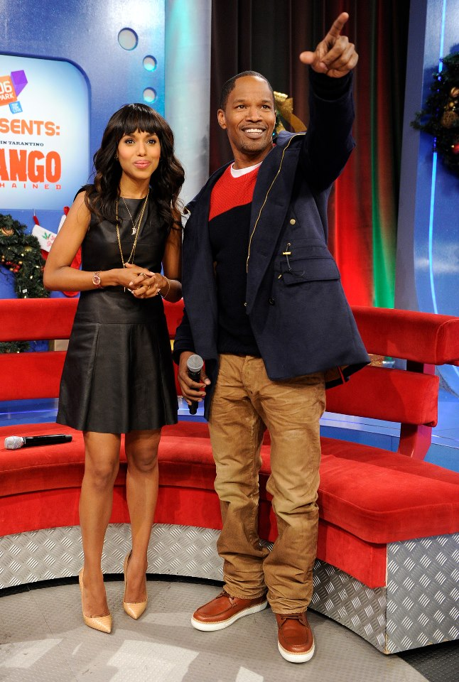 Kerry Washington and Jamie Foxx on 106 and Park