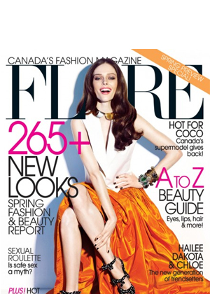 Vote For Your Favourite <i>FLARE</i> Cover Girl of 2012