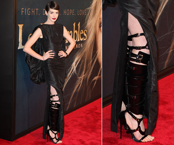 Anne Hathaway Les Misérables Premiere Tom Ford