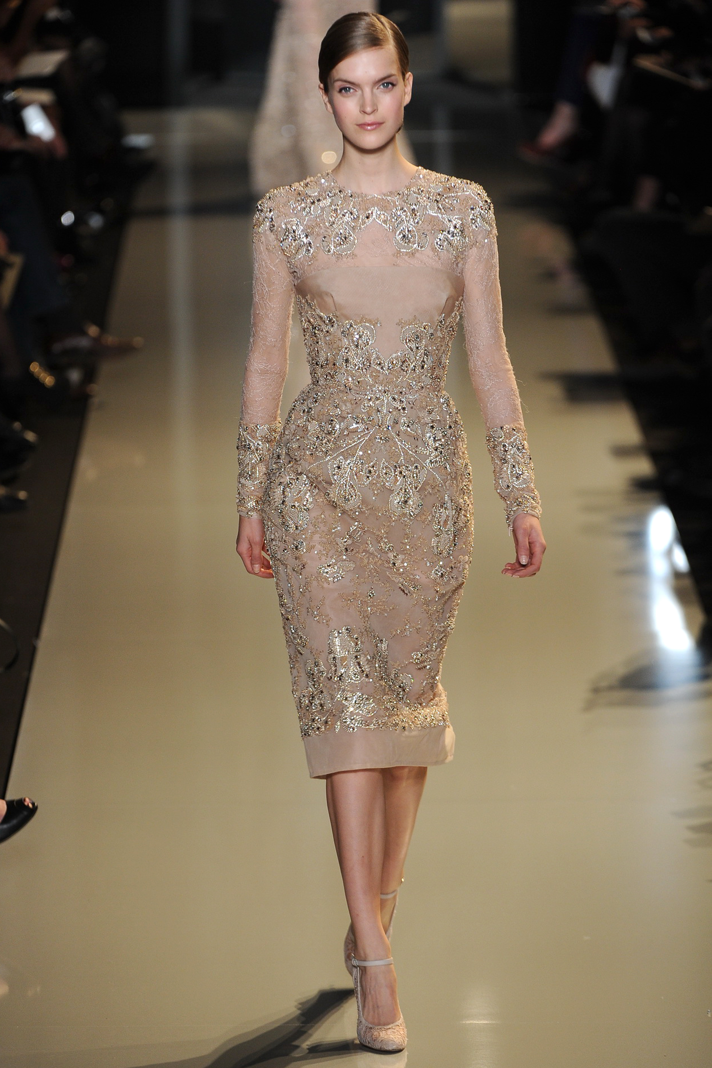 Haute couture at paris fashion week elie saab spring 2013 for Modern haute couture