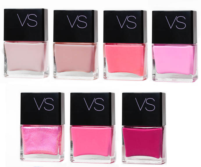 Pink Victoria's Secret Polishes