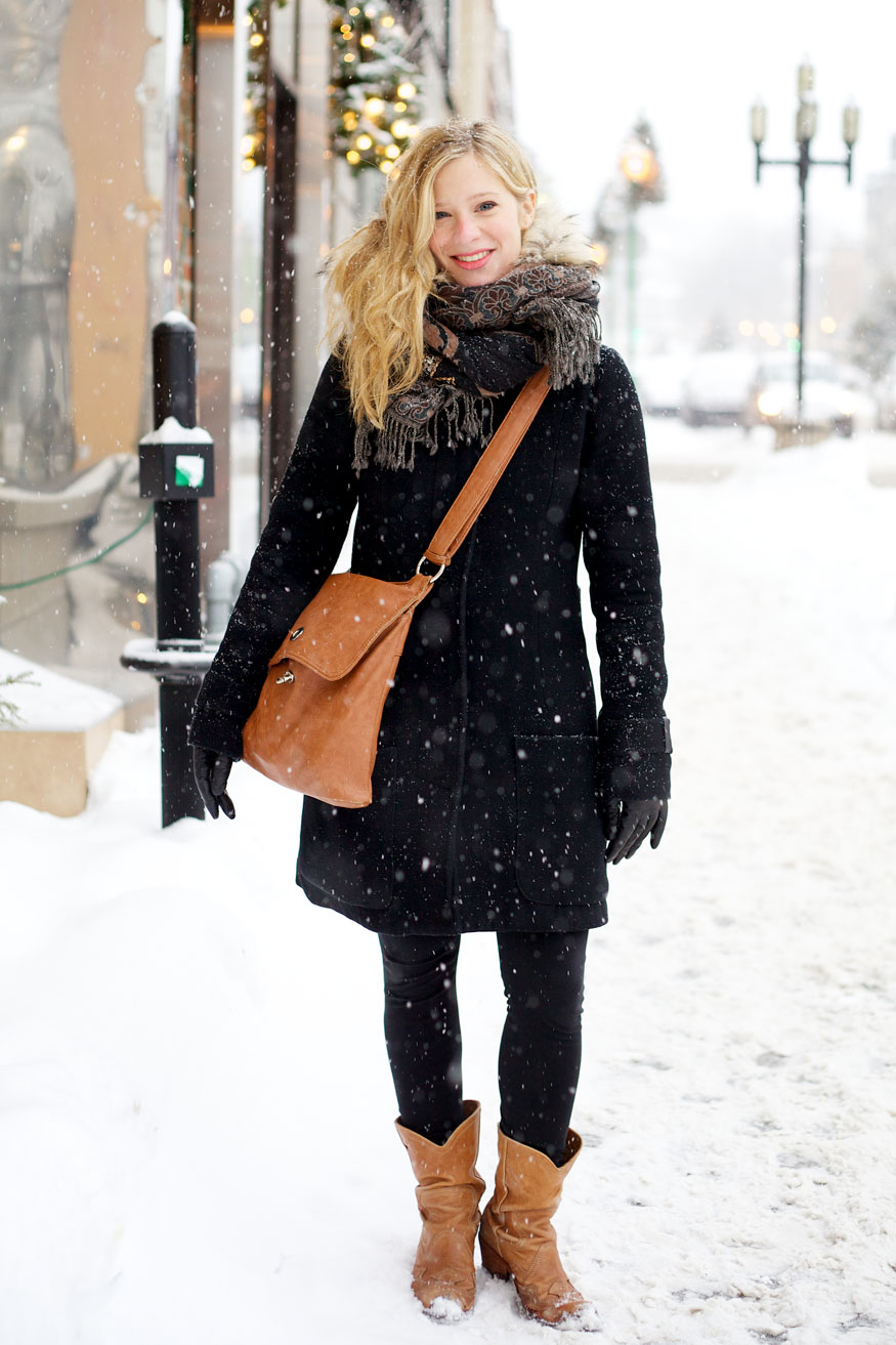 Montreal Street Style Fashion Winter 2013 - FLARE