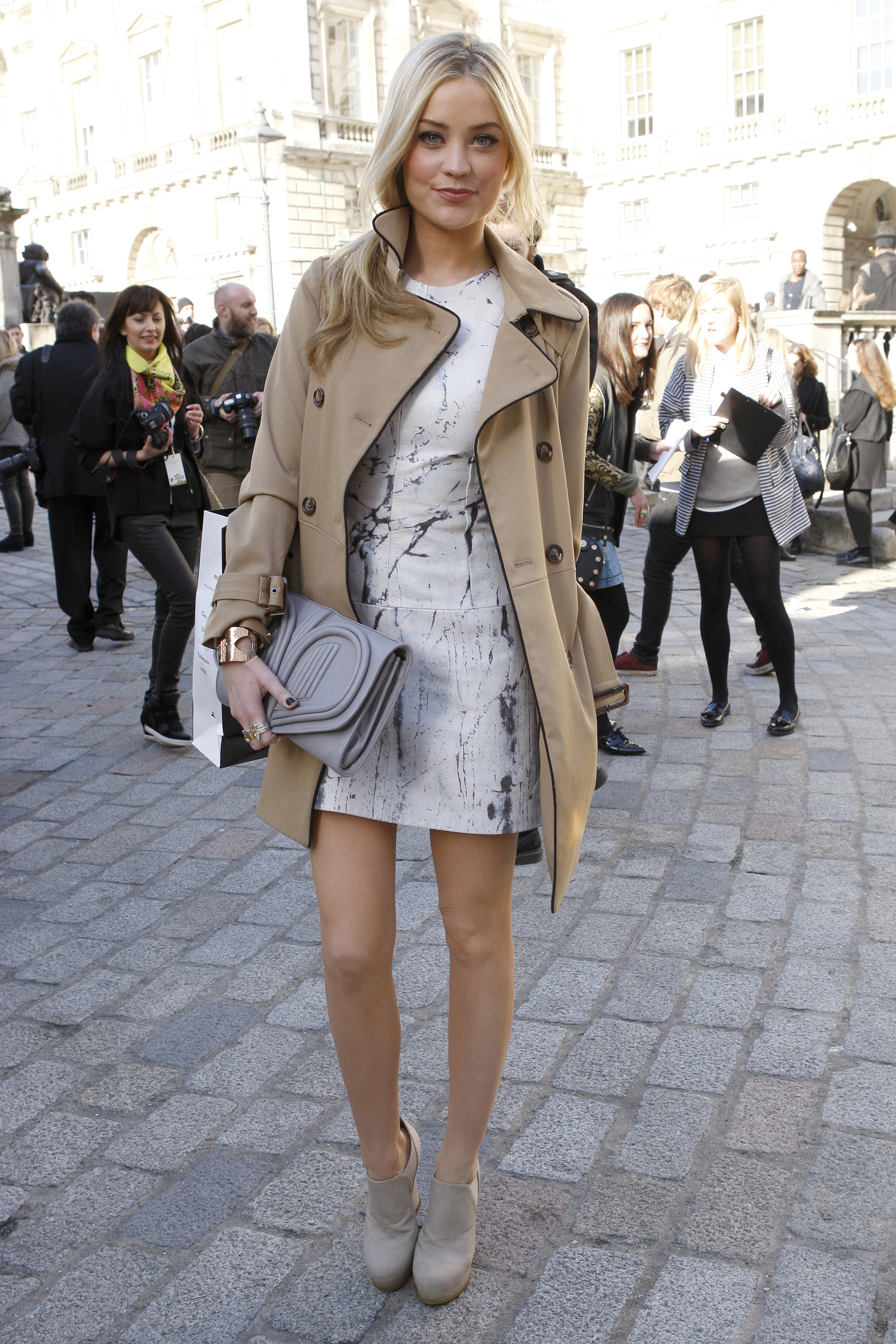 Street Style At London Fashion Week Fall 2013 Flare