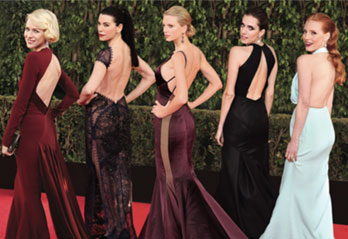 The Return Of The Backless Dress: Would You Wear It?