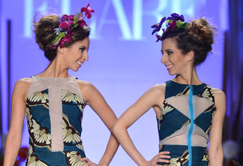 The Sparks Twins On Walking Their First Runway