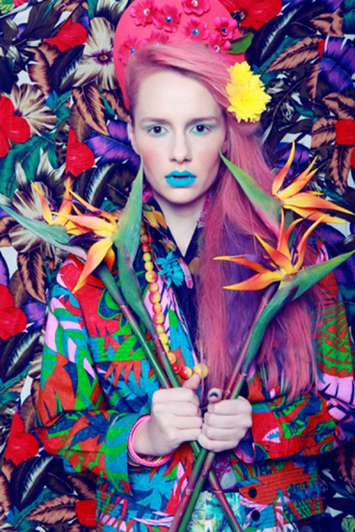 Hannah Sider The Power of Flowers, NYC Photo courtesy of Fashion Art Toronto