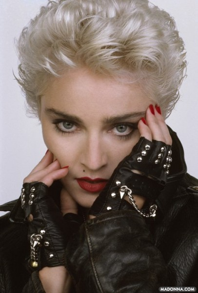 Celebrities with rocker hair 2013 flare madonna photo courtesy of madonnas facebook urmus Image collections