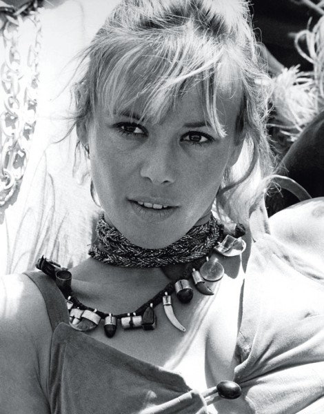 Anita Pallenberg, circa 1970; Photo by Everett Collection
