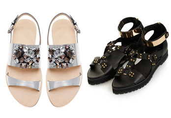 <i>Wear Now:</i> 8 Embellished Sandals