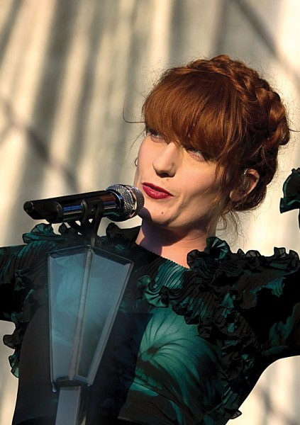 Florence Welch; Photo by Getty Images