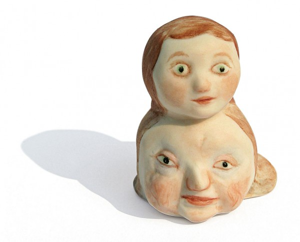 """One of """"The Most Precious Things"""" Sheila Heti owns: Untitled, 2005, Edition of 5, Porcelain china and paint"""