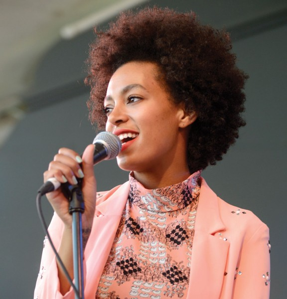 Solange Knowles; Photo by Getty Images