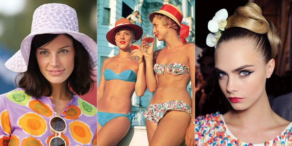 Slim Aarons, Getty Images; Issa Runway, Anthea Simms.
