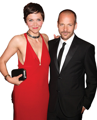 Sarsgaard (with wife Maggie Gyllenhaal at The Met Ball); Courtesy of Keystone Press