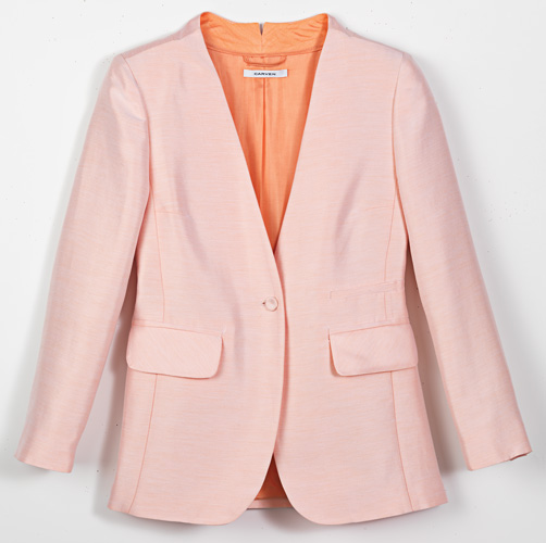 The writer's Carven jacket