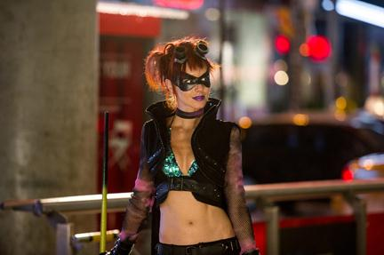 Booth as Night-Bitch in Kick-Ass 2