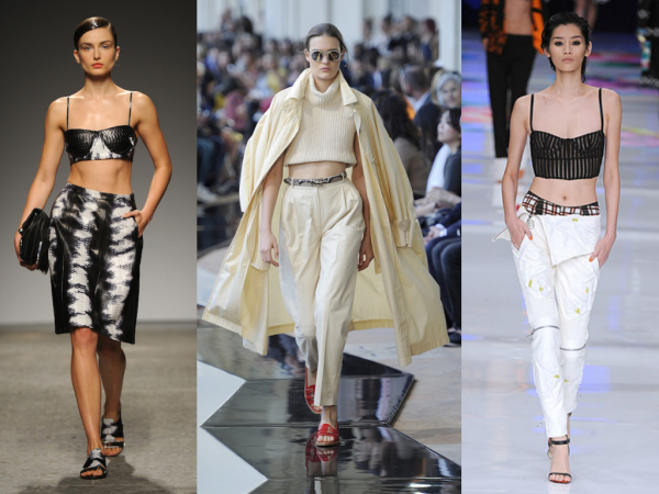2. The Crop Top — Ports 1961, Trussardi, Just Cavalli // Photos by Anthea Simms
