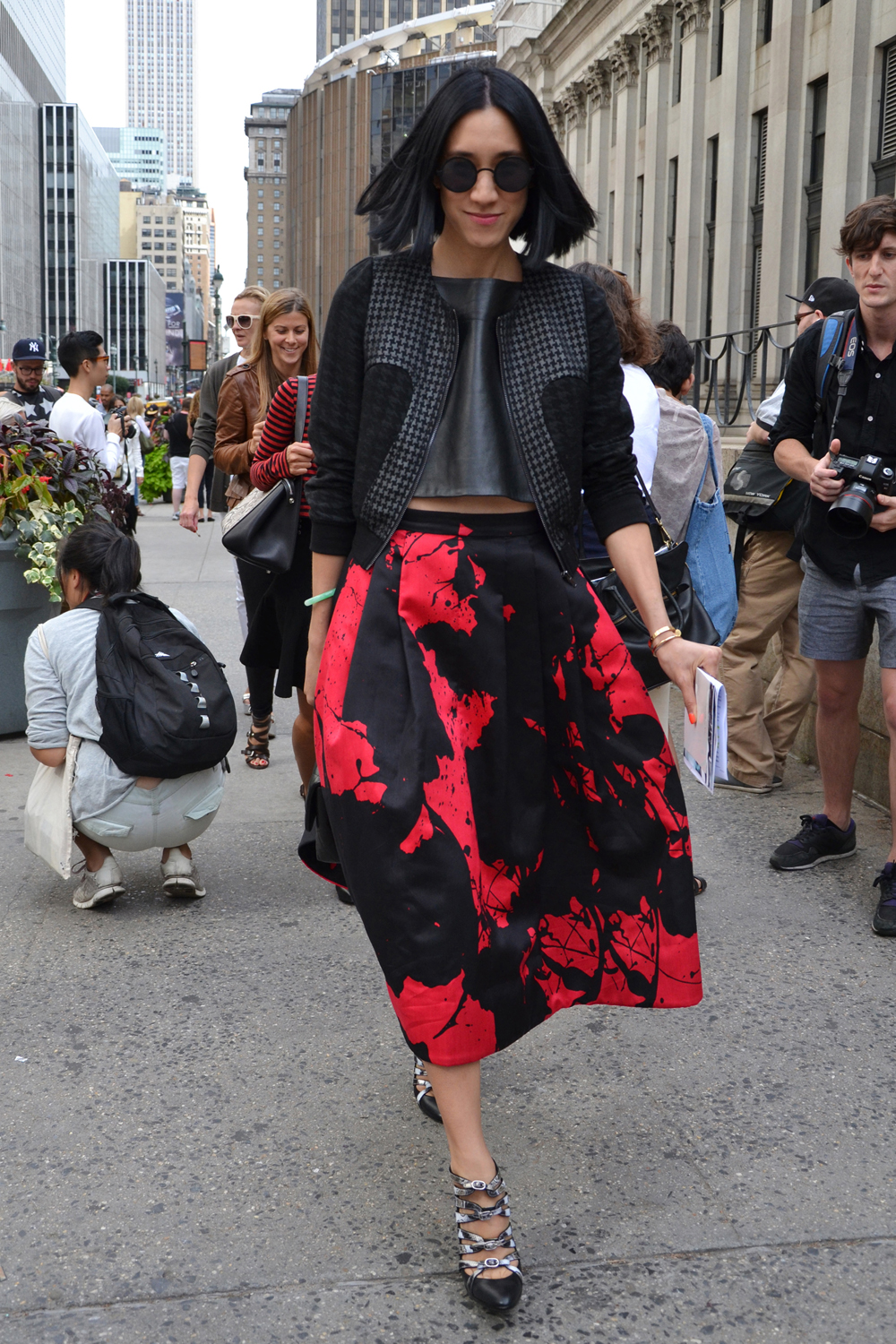 <b> Street Style: NY Fashion Week Spring 2014 </b>