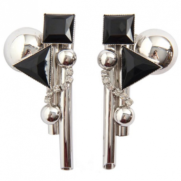 1980s sculptural earrings that were purchased by Marina Abramović; image courtesy of Magwood