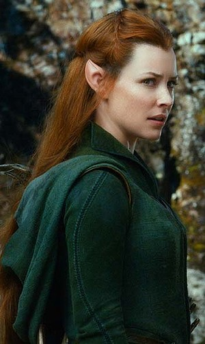 Evangeline Lilly in The Hobbit